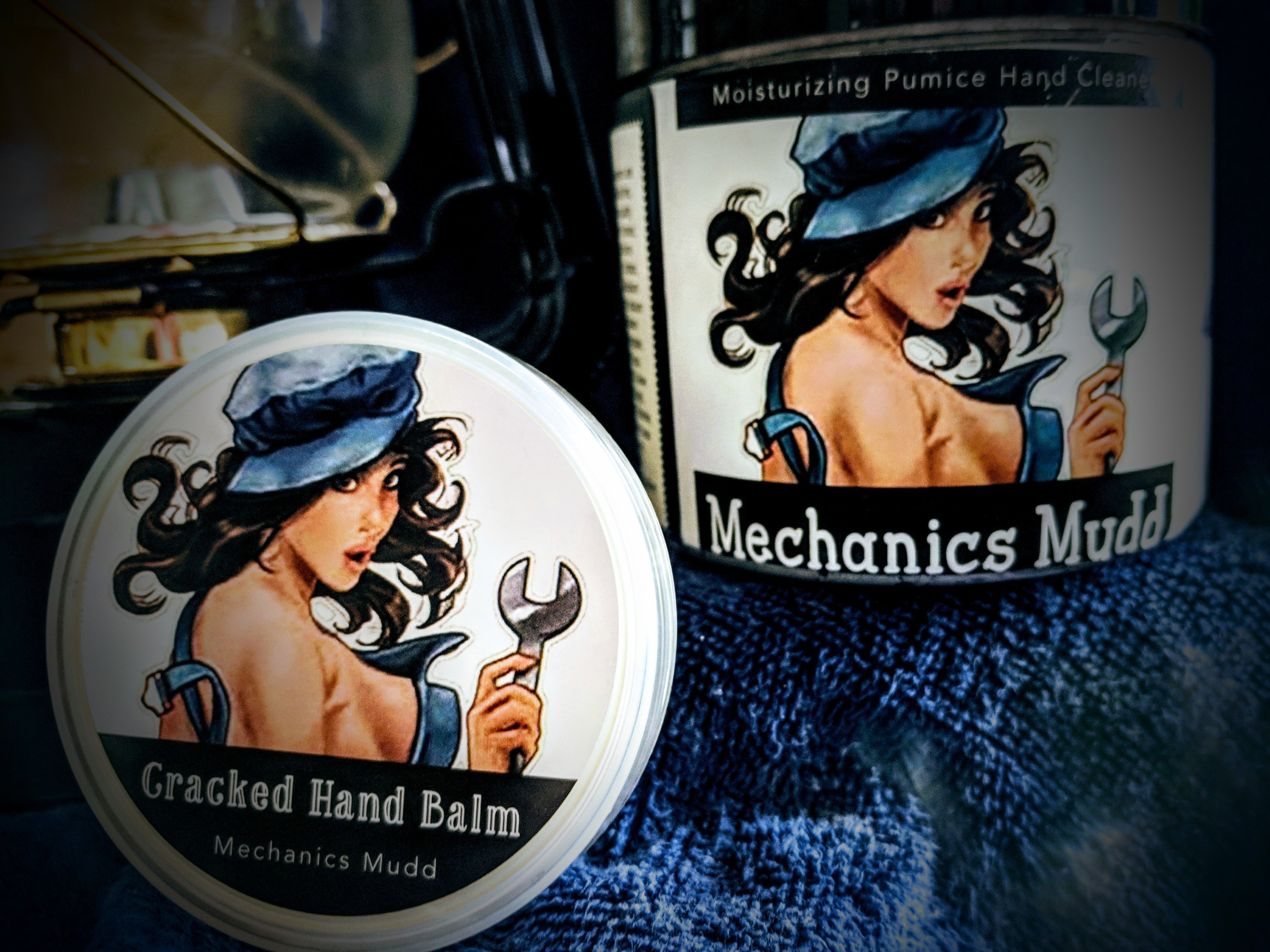 Mechanics Mudd Cracked Hand Balm 00130