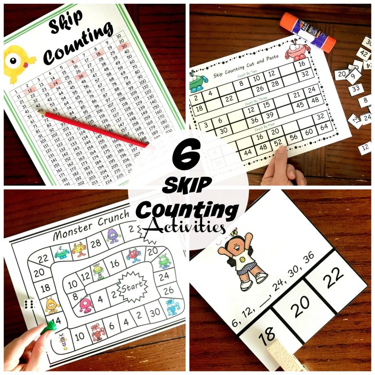 6 Skip Counting Activities 00026