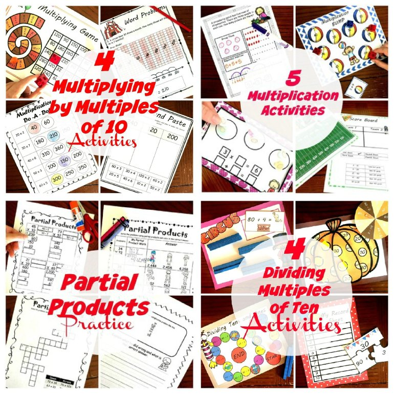 Multiplication and Division Bundle 00057