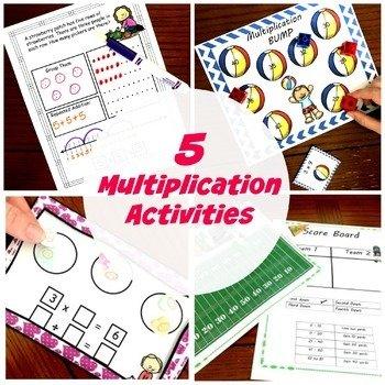 5 Multiplication Activities