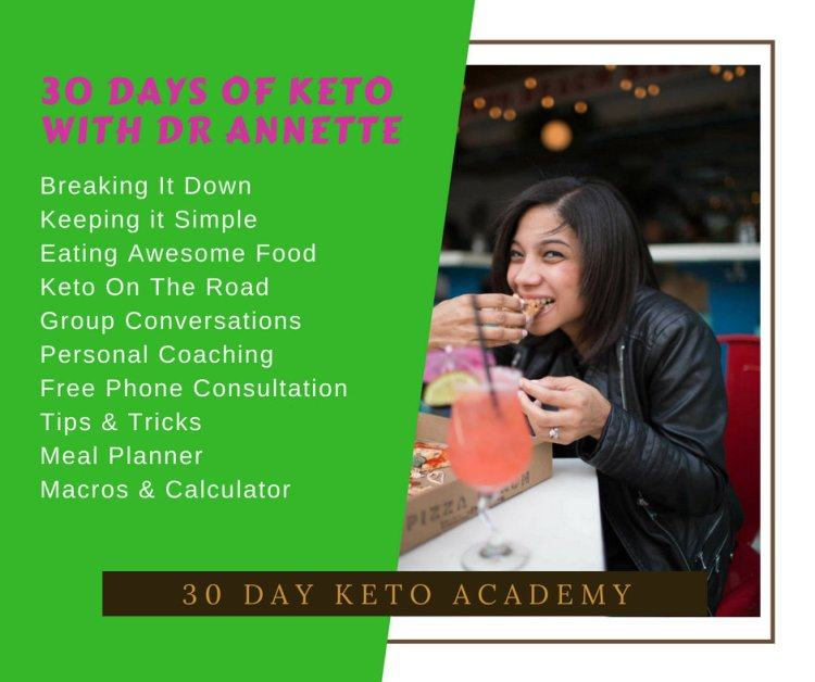 30 Day Keto Academy with Dr Annette KetoAcademy