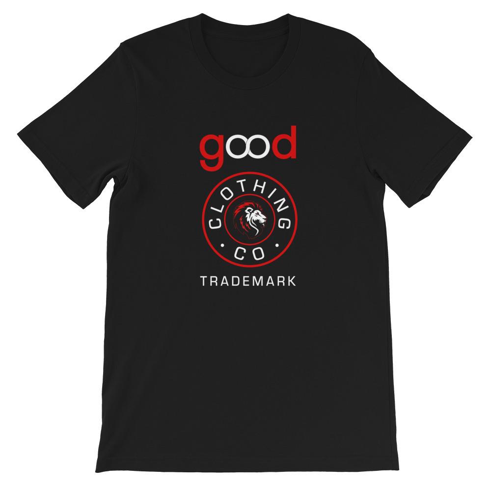 Good Forever Trademark Blk/ Red Short-Sleeve Unisex T-Shirt 00061
