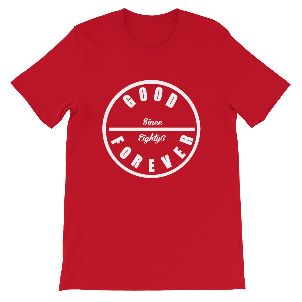 Good Forever 86 Candy Red T-Shirt 00080