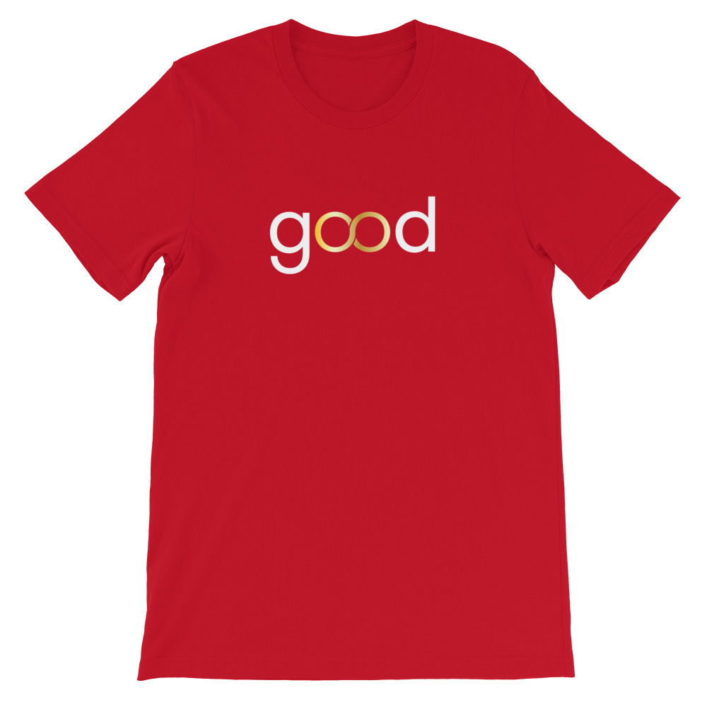 Good Forever infinity Candy Red T-Shirt 00086