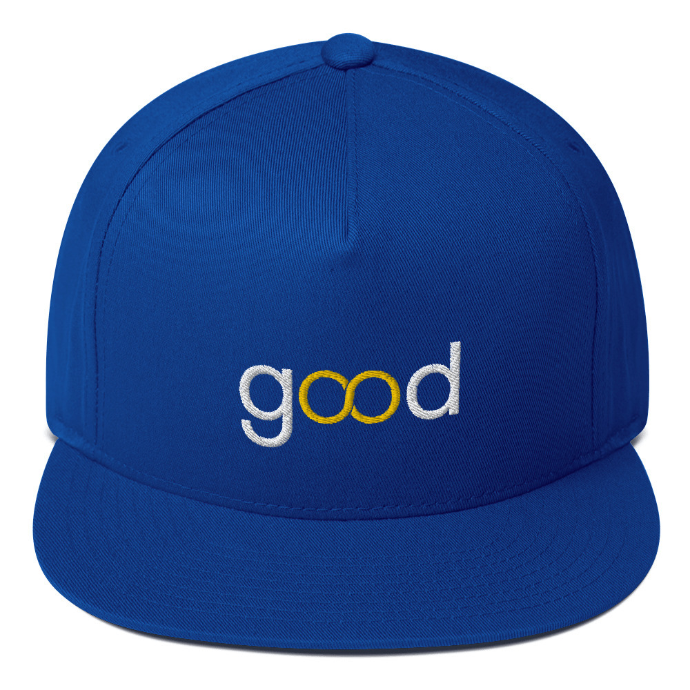 Good Forever Infinity Flat Bill Cap
