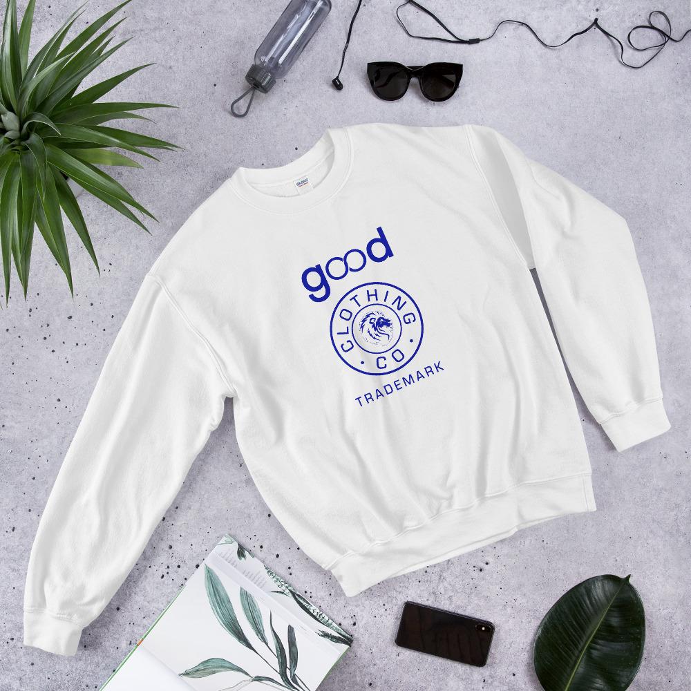 Good Forever Trademark True Blue Unisex Sweatshirt 00090