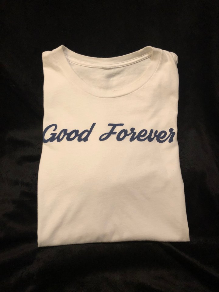 Good Forever Unisex Premiere True Blue Tee 00017