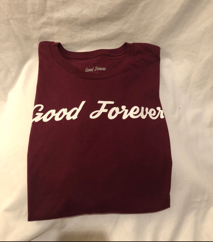 Good Forever Premiere Alternate Crimson Tee 00021