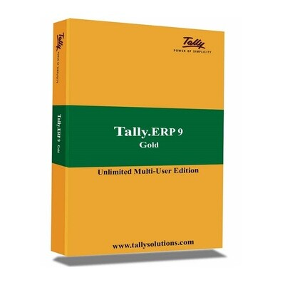 Tally ERP 9 Gold Multi User Accounting Software