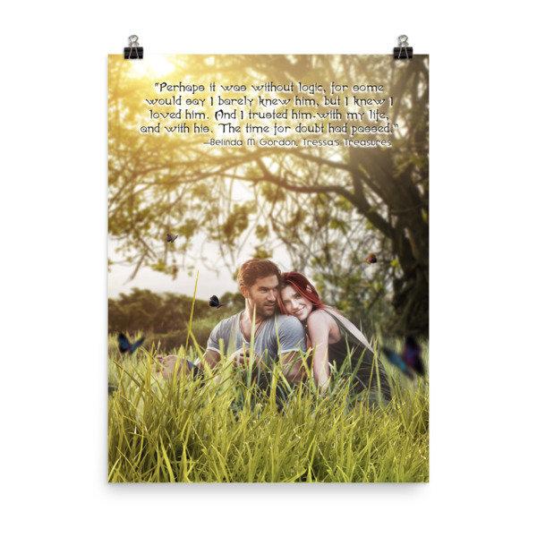 Tressa and Xander 'I love you' Poster