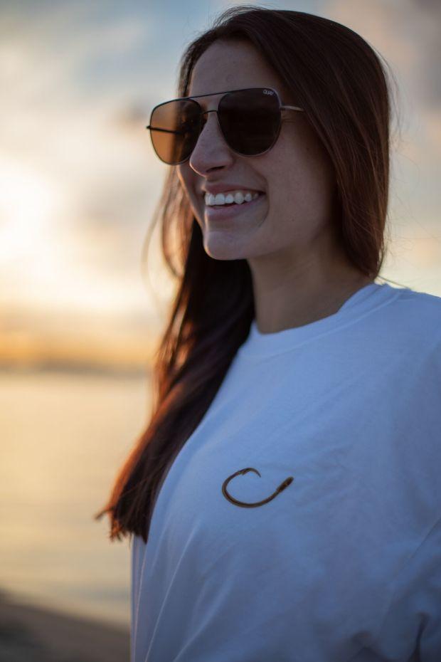 Long Sleeve Technical Shirt - White