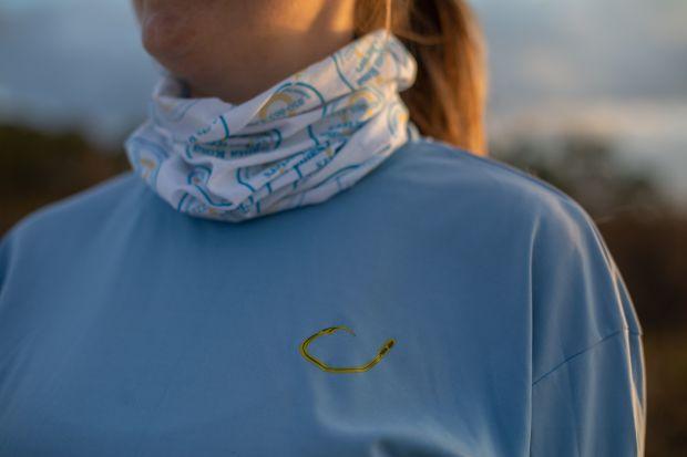 Long Sleeve Technical Shirt - Blue