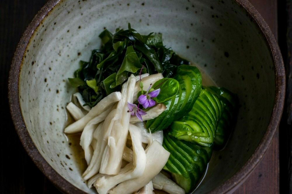 Japanese Cucumber Salad (gf)