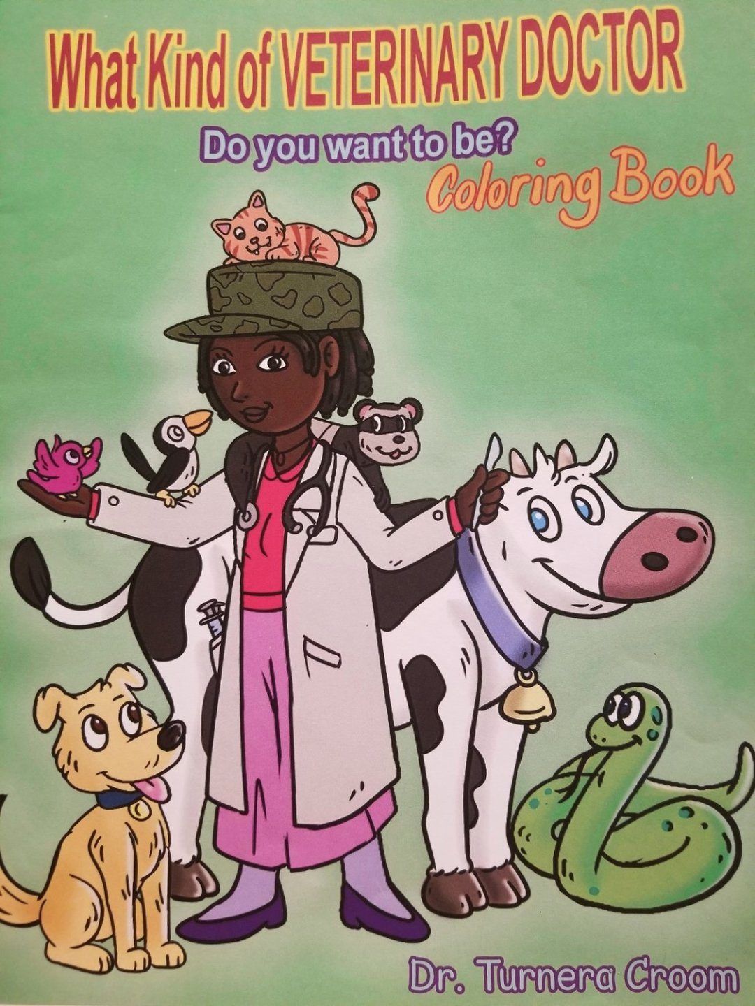 Future Veterinarian Coloring Book