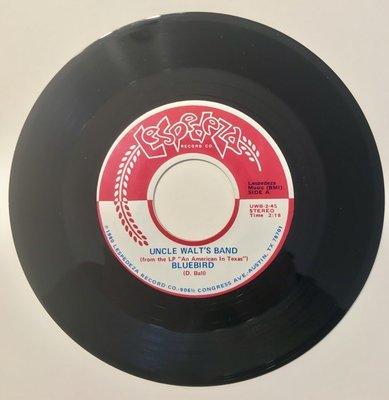 Original 45: Bluebird / Too Far To Fall