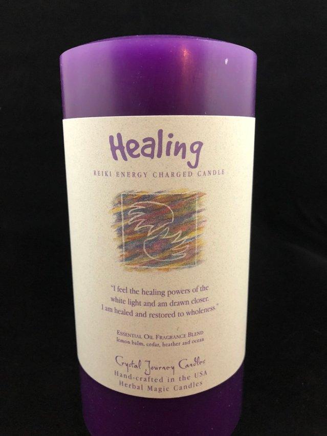 Herbal 3x6 Pillar - Healing