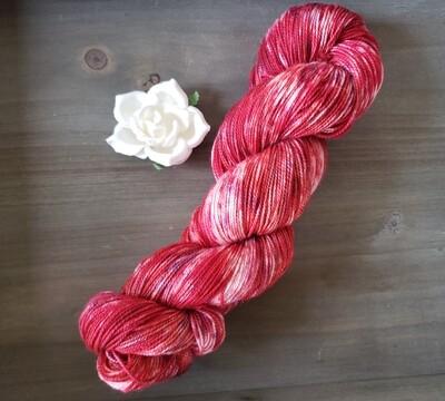 Hibiscus Tea Hand Dyed Yarn