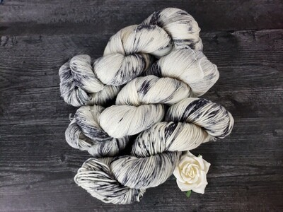 Cloudy Day Hand Dyed Yarn