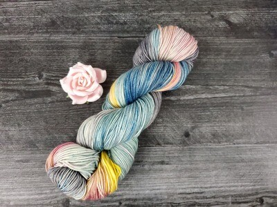 April Showers Hand Dyed Yarn