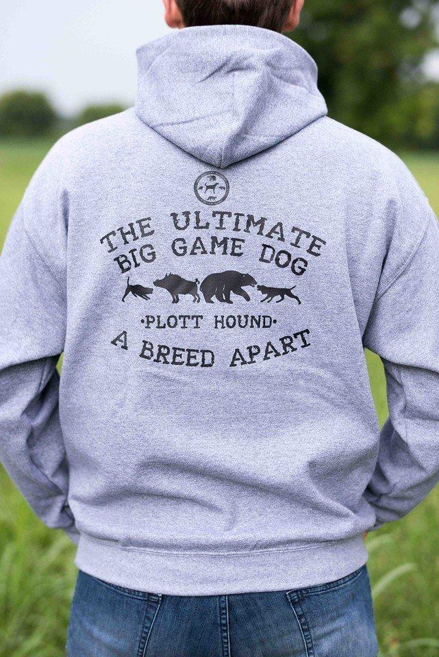 Dark Grey Ultimate Big Game Dog Hoodie