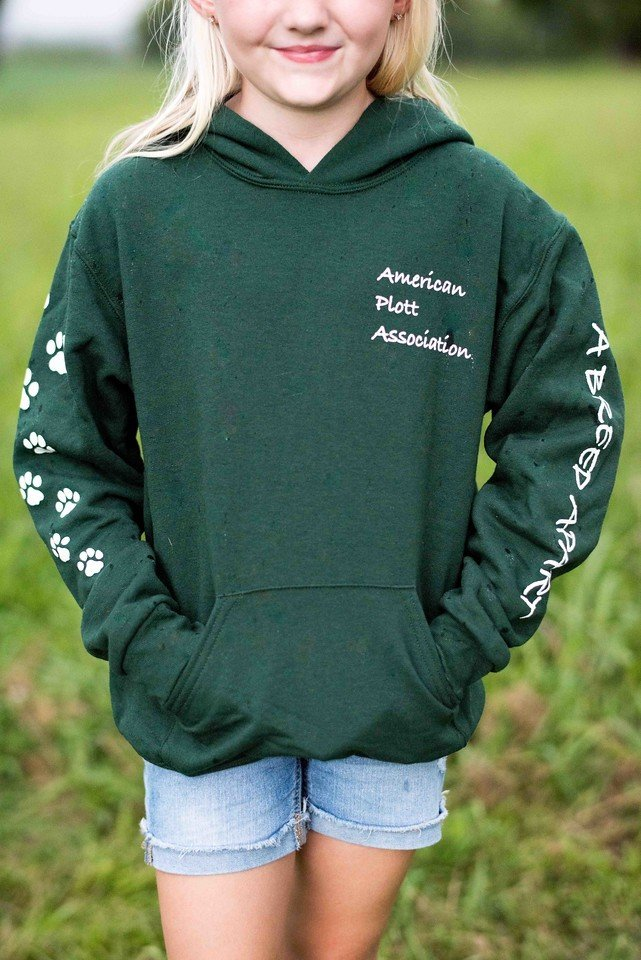 Youth Green Hoodie