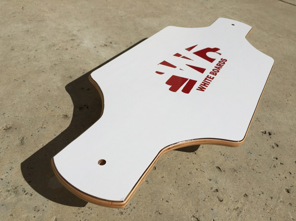 White Boards Streetboard Snakeboard Pivotboard Bar