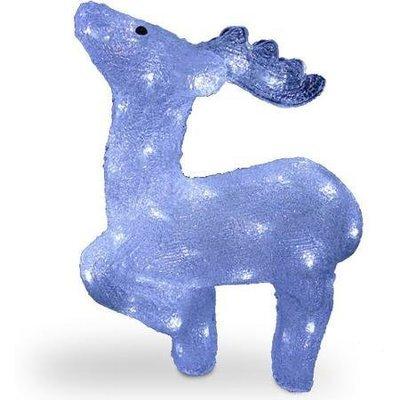 Акриловая светодиодная фигура Арктический олень 43см