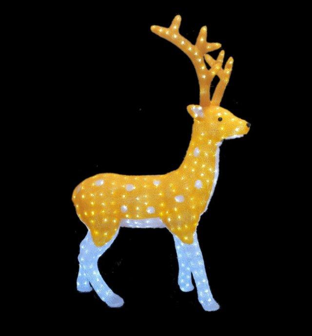 Светодиодная фигура Северный олень 110 см