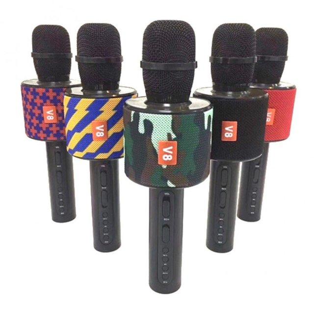 Беспроводной караоке микрофон V8 V8