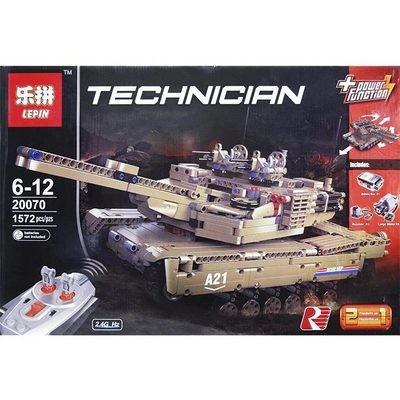Купить конструктор Lepin Technic Танк 20070