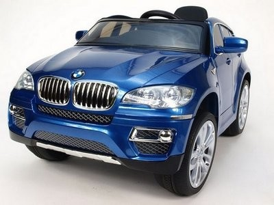 Купить электромобиль для детей RiverToys BMW X6