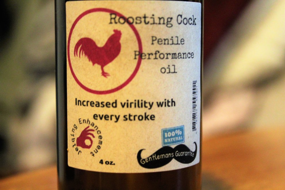 Roosting Cock Penile Performance Oil 0782752557901