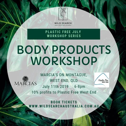 11th July - DIY Body Products Basics Workshop - West End Brisbane