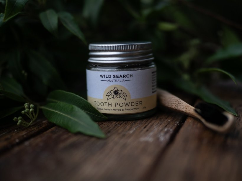 Tooth Powder - Lemon Myrtle & Peppermint (30g)