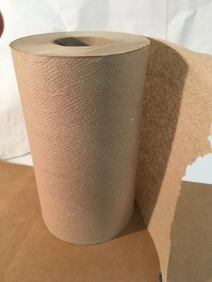 Paper Towel Roll 205' 24 Rolls Kraft Hard Wound