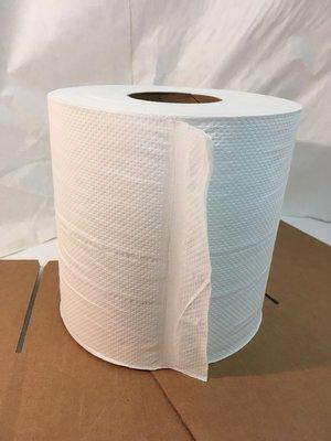 Paper Towel Roll 600' 6 Rolls Towel Centerpull 2ply