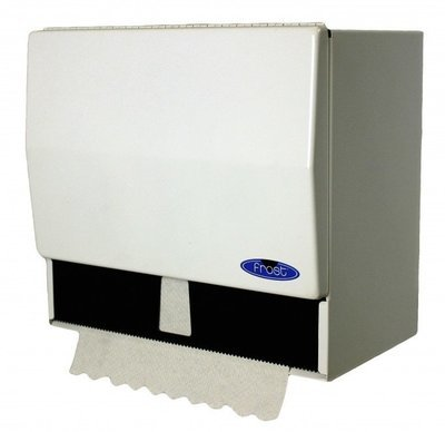 Paper Towel dispenser - White Enamel - Frost 101