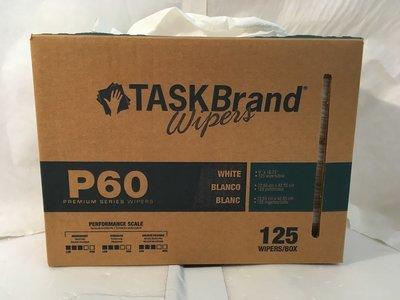 Wiper Taskbrand P60  Wiper 125/count