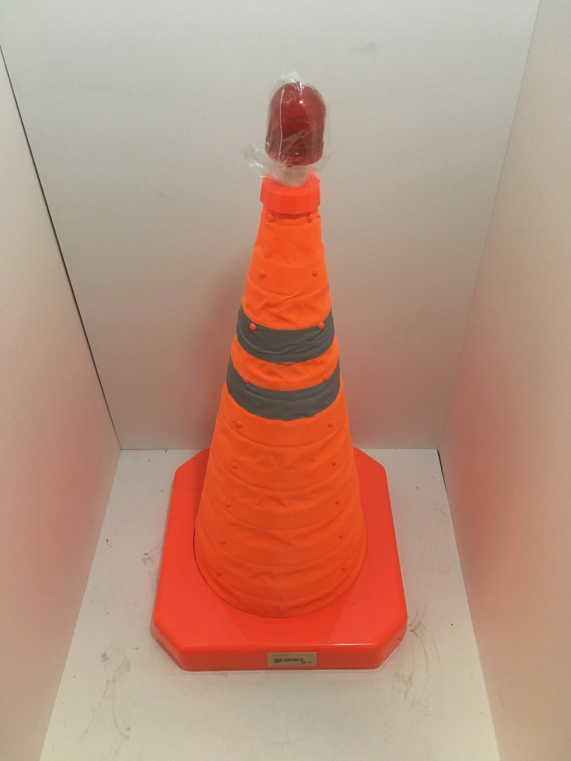 Sign - Wet Floor Collapsible Safety Cone w/light