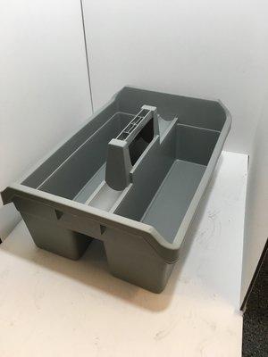 Caddy Maxi Maid's carrier cart - Grey