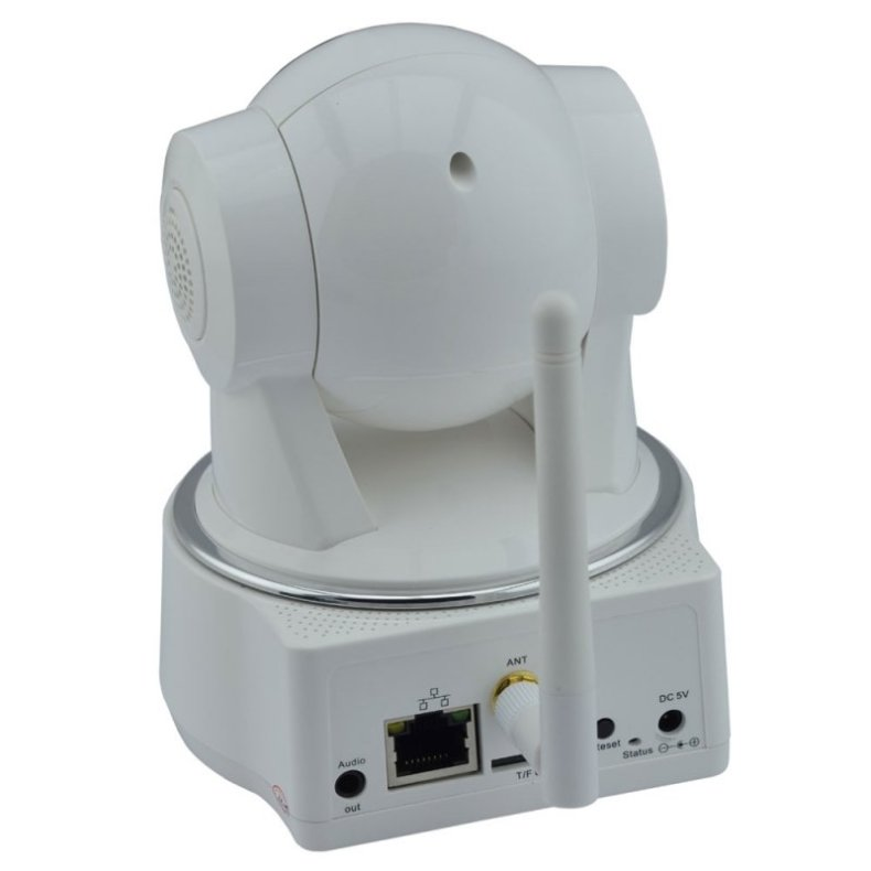 VESKYS N622W 720P CMOS HD Surveillance Wireless Wi-Fi Two-way Audio Network IP Camera White