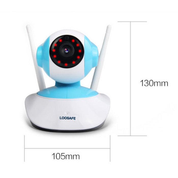 720P HD 1MP WIFI Indoor Surveillance IP Night Vision Camera w/ UK Plug