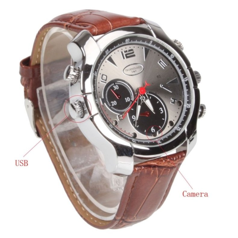 16GB HD 1080P Waterproof Watch Camera DVR IR Night Vision Digital Recorder TM86TT2292