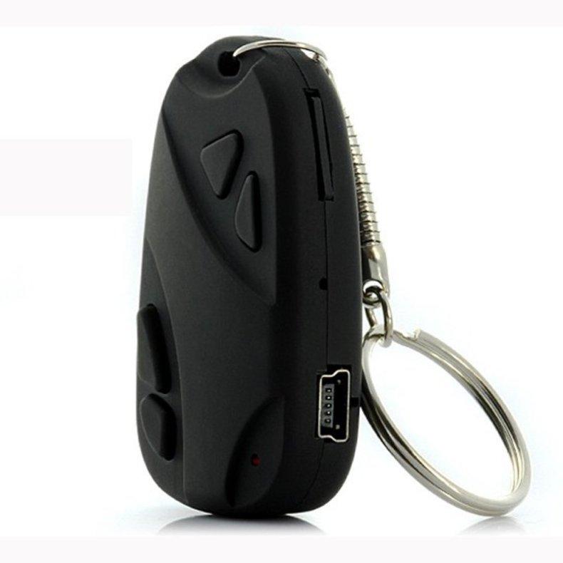Mini 808 Camcorder Key Chain Car Remote Pinhole Camera Video Recorder TM86TT5178