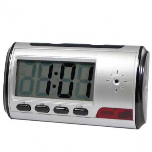 Digital Alarm Clock DVR with motion detector 4GB CEPDVRMFC