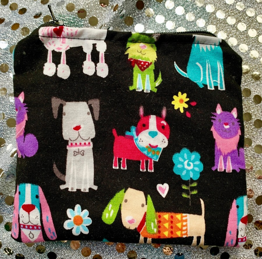 Snackbags - Doodle Poodle with waterproof and food safe liner