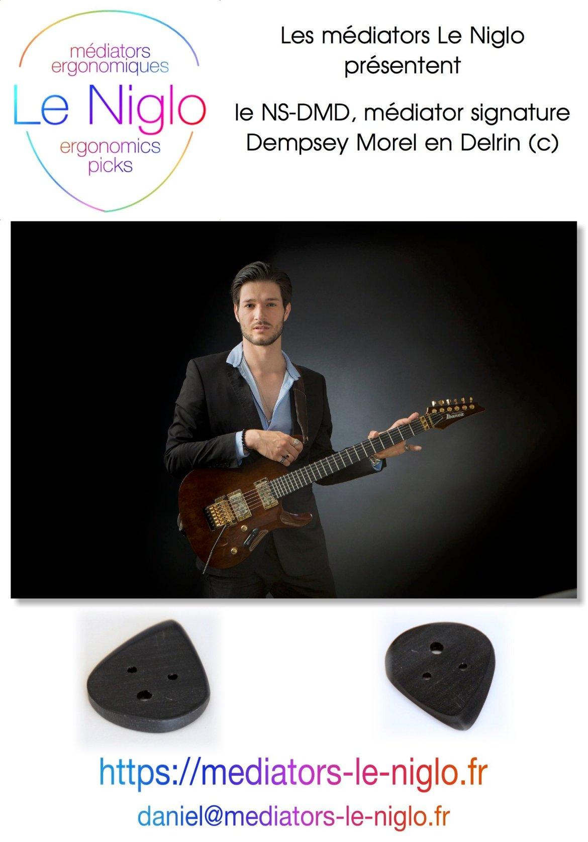 le NS-DMD Delrin (c) signature