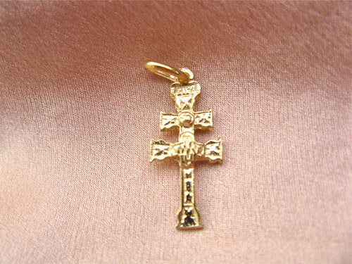 The twin-armed cross of Caravaca would make a meaningful gift