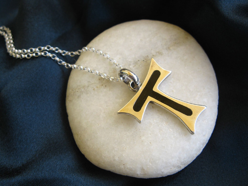 This beautiful Tau cross makes the perfect gift for spiritual well-being