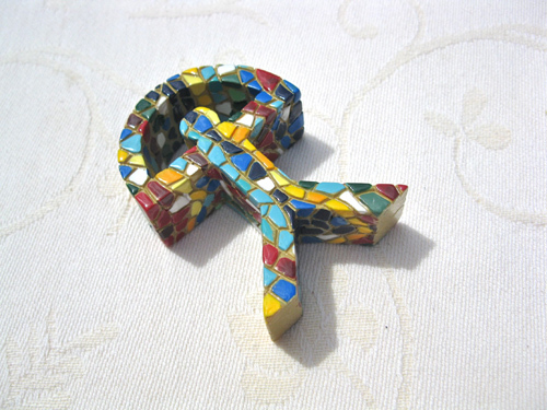 A lovely colourful lucky talisman - Design A